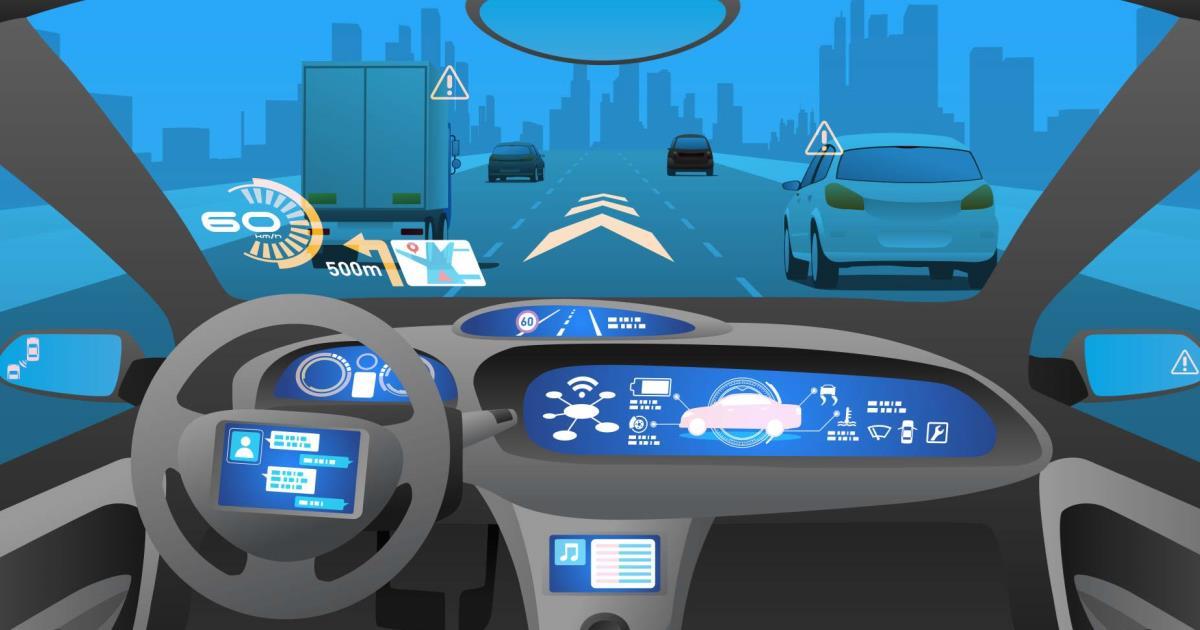 Ilyen lesz az önvezető autók műszerfala. Az autóiparban újabban az üzleti intelligencia és az adatelemzés kap főszerepet.