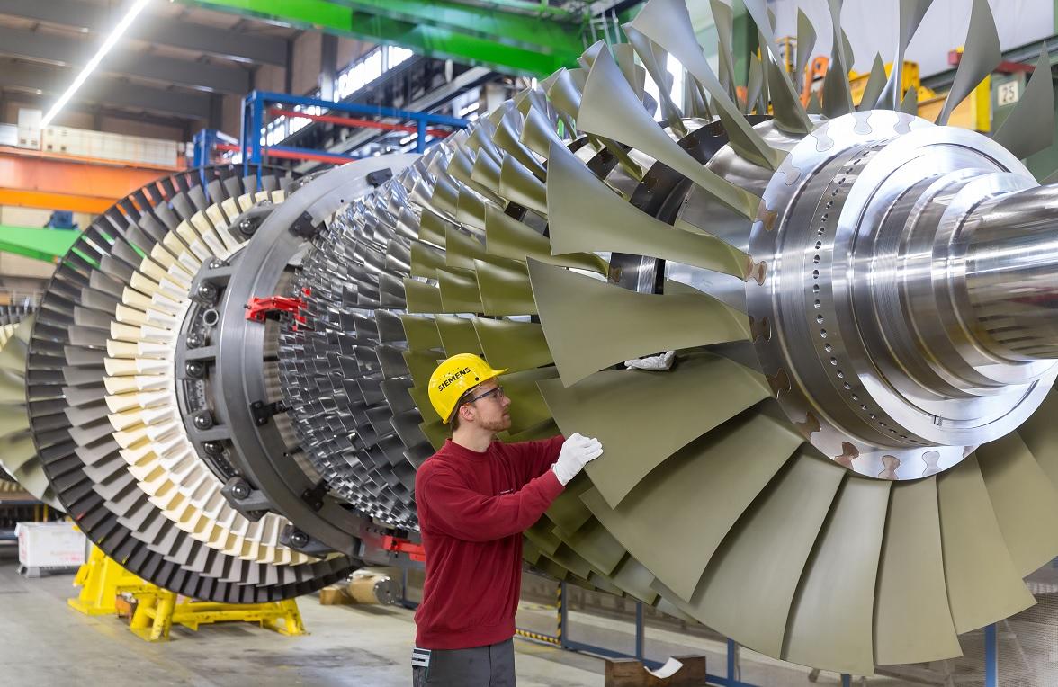 Mesterséges intelligencia segítségével tökéletesítik a Siemens turbinájának működését