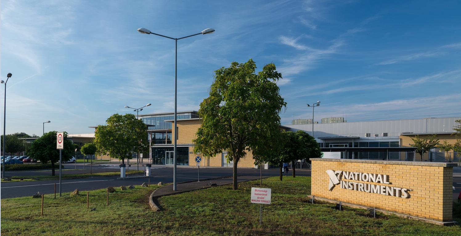 A National Instruments Corp. gyártáshoz kapcsolódó pénzügyi feladatait globálisan Debrecenből irányítják.