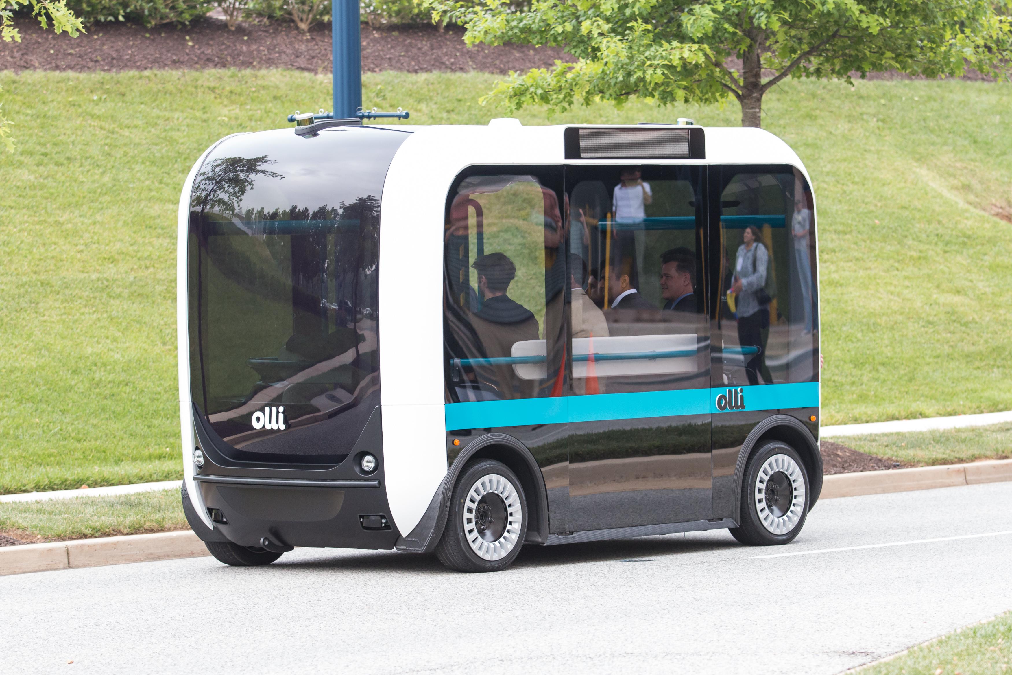 A 3D nyomtatással készült Olli minibusz a Local Motorstól