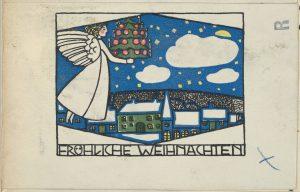 Karácsonyi kvíz - Fritz Zeymer: Fröhliche Weihnachten, The MET, Public Domain