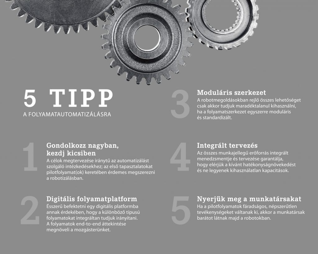 5 tipp a folyamatautomatizálásra